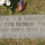 Rose Hill grave marker 2