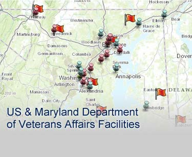 Veterans Affairs Facilities Serving Maryland